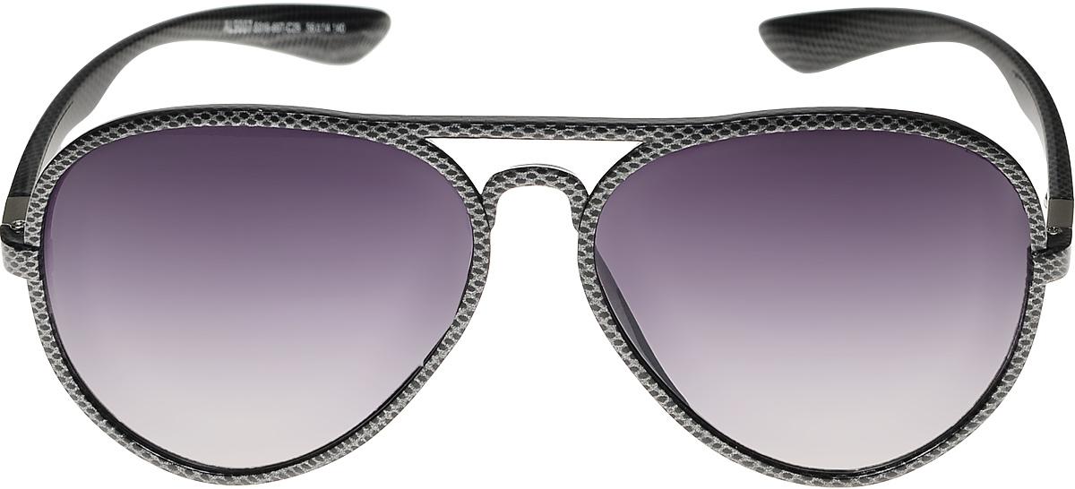 Очки солнцезащитные женские Vittorio Richi, цвет: черный. ОС9007с016-667-29/17fОС9007с016-667-29/17fОчки солнцезащитные Vittorio Richi это знаменитое итальянское качество и традиционно изысканный дизайн.