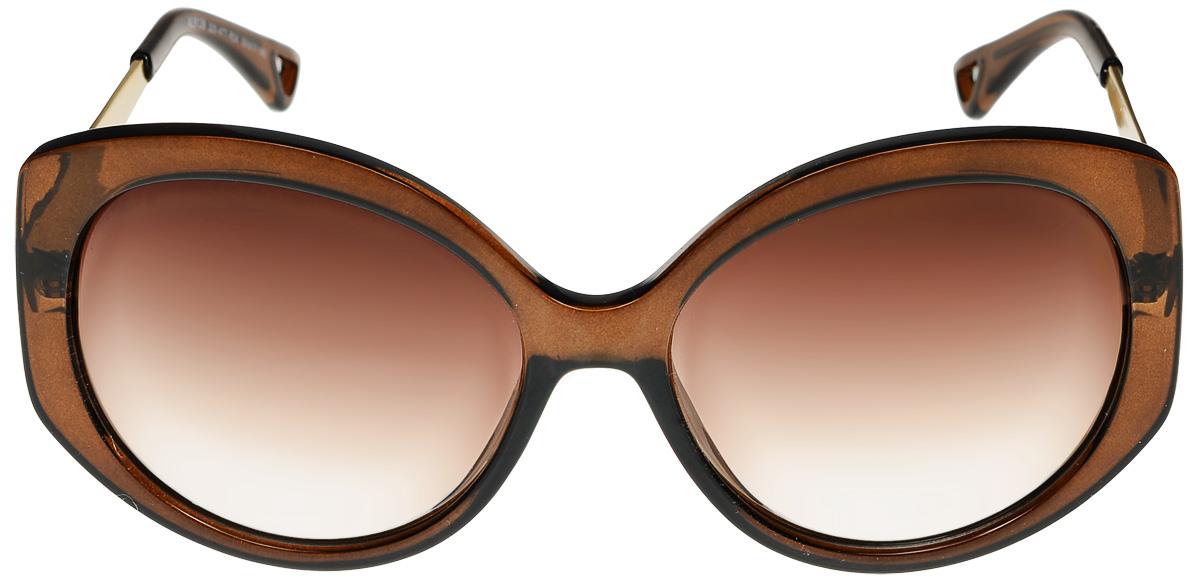 Очки солнцезащитные женские Vittorio Richi, цвет: коричневый. ОС9136c320-477-04/17fОС9136c320-477-04/17fОчки солнцезащитные Vittorio Richi это знаменитое итальянское качество и традиционно изысканный дизайн.