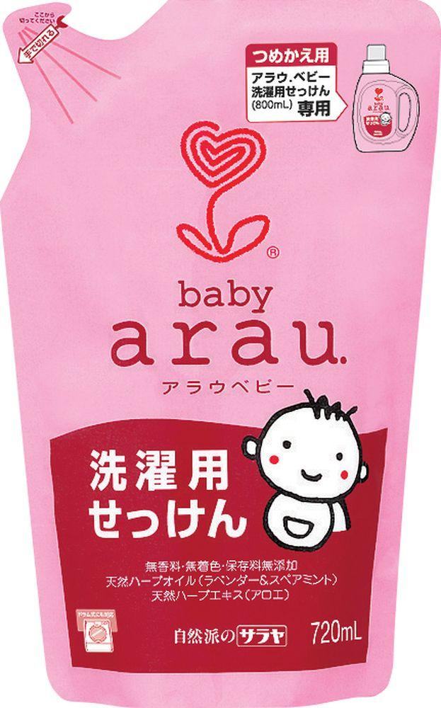 Arau Baby Жидкость для стирки детской одежды картридж 720 млYASH62711Жидкость для стирки создана на основе 100% натуральных компонентов – натурального мыла, полученного из кокосового масла, с добавлением экстрактов лаванды и мяты. Благодаря уникальной натуральной формуле жидкость для стирки эффективно удаляет загрязнения, делает белье мягким и приятным на ощупь. Не содержит синтетических ПАВов, ароматизаторов, красителей и консервантов. Подходит для всех типов тканей. Товар сертифицирован.