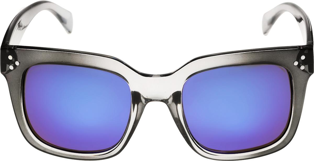 Очки солнцезащитные женские Vittorio Richi, цвет: черный, синий. ОС9140c490-635-5/17fОС9140c490-635-5/17fОчки солнцезащитные Vittorio Richi это знаменитое итальянское качество и традиционно изысканный дизайн.
