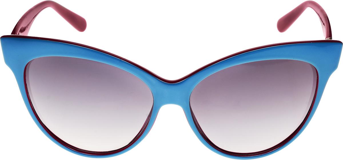 Очки солнцезащитные женские Vittorio Richi, цвет: синий, красный. ОС9059с205-676-5/17fОС9059с205-676-5/17fОчки солнцезащитные Vittorio Richi это знаменитое итальянское качество и традиционно изысканный дизайн.