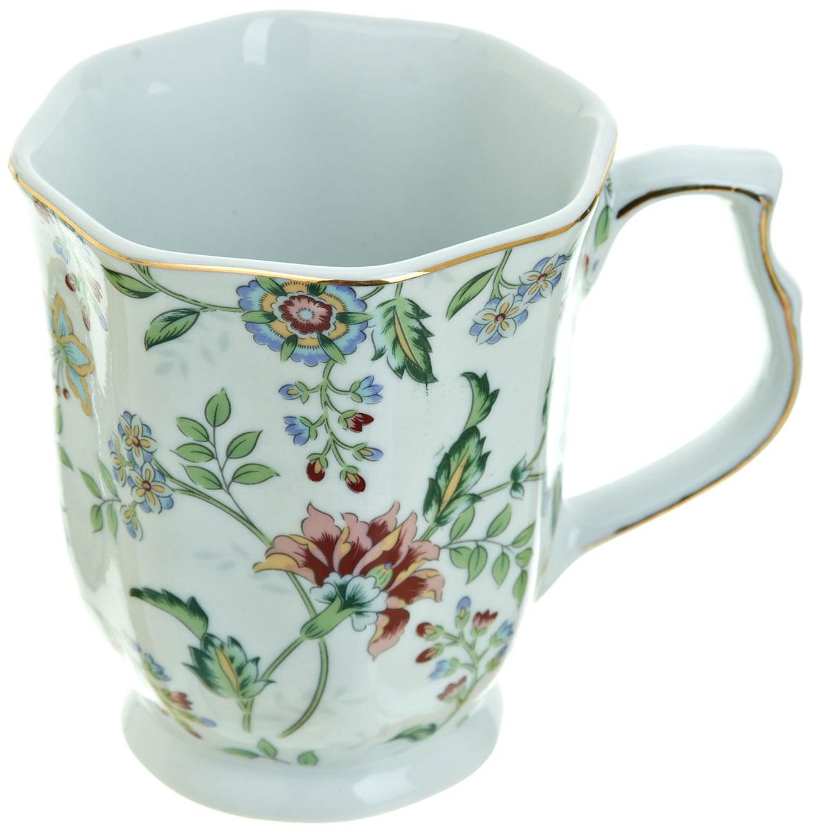 Кружка BHP Альпийский сад, 350 млM1270260Оригинальная кружка Best Home Porcelain, выполненная из высококачественного фарфора, сочетает в себе изысканный дизайн с максимальной функциональностью. Красочность оформления кружки придется по вкусу и ценителям классики, и тем, кто предпочитает утонченность и изысканность. В комплект входит кружка. Можно использовать в ПММ.