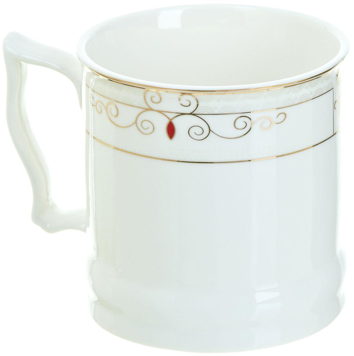 Кружка BHP Королевская кружка, 500 мл. M1870003M1870003Оригинальная кружка Best Home Porcelain, выполненная из высококачественного фарфора, сочетает в себе простой, утонченный дизайн с максимальной функциональностью. Оригинальность оформления придутся по вкусу тем, кто ценит индивидуальность. В комплект входит кружка. Можно использовать в ПММ.