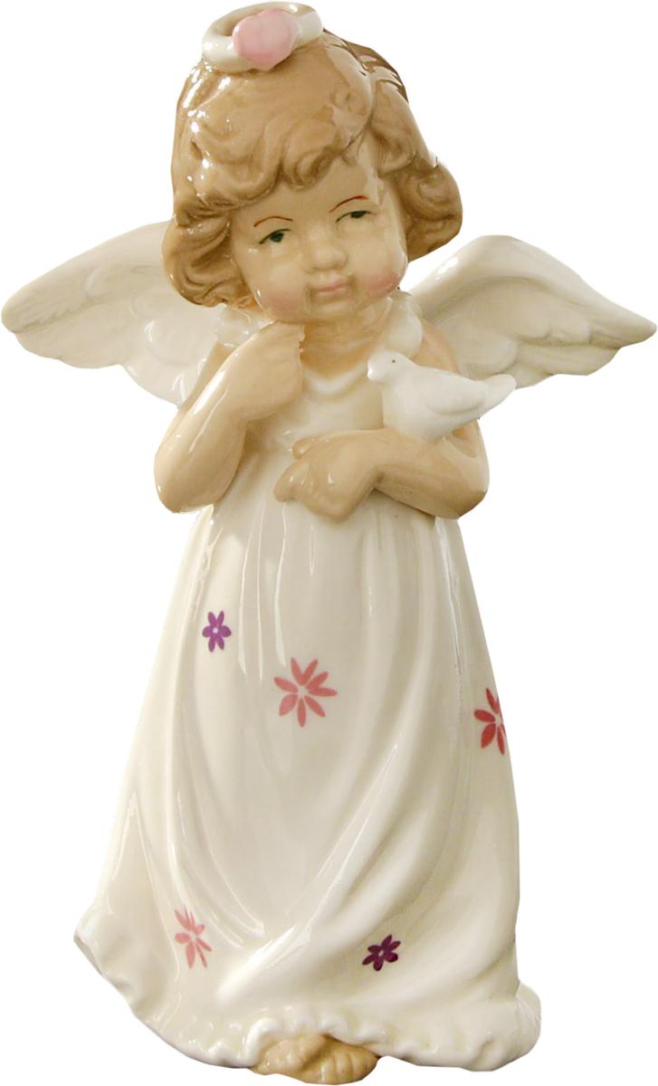 Сувенир пасхальный Sima-land Ангел в платьице с цветочками, 14,5 х 8,5 х 5 см1533483Сувенир Ангел в платьице с цветочками — сувенир в полном смысле этого слова. И главная его задача — хранить воспоминание о месте, где вы побывали, или о том человеке, который подарил данный предмет. Преподнесите эту вещь своему другу, и она станет достойным украшением его дома.