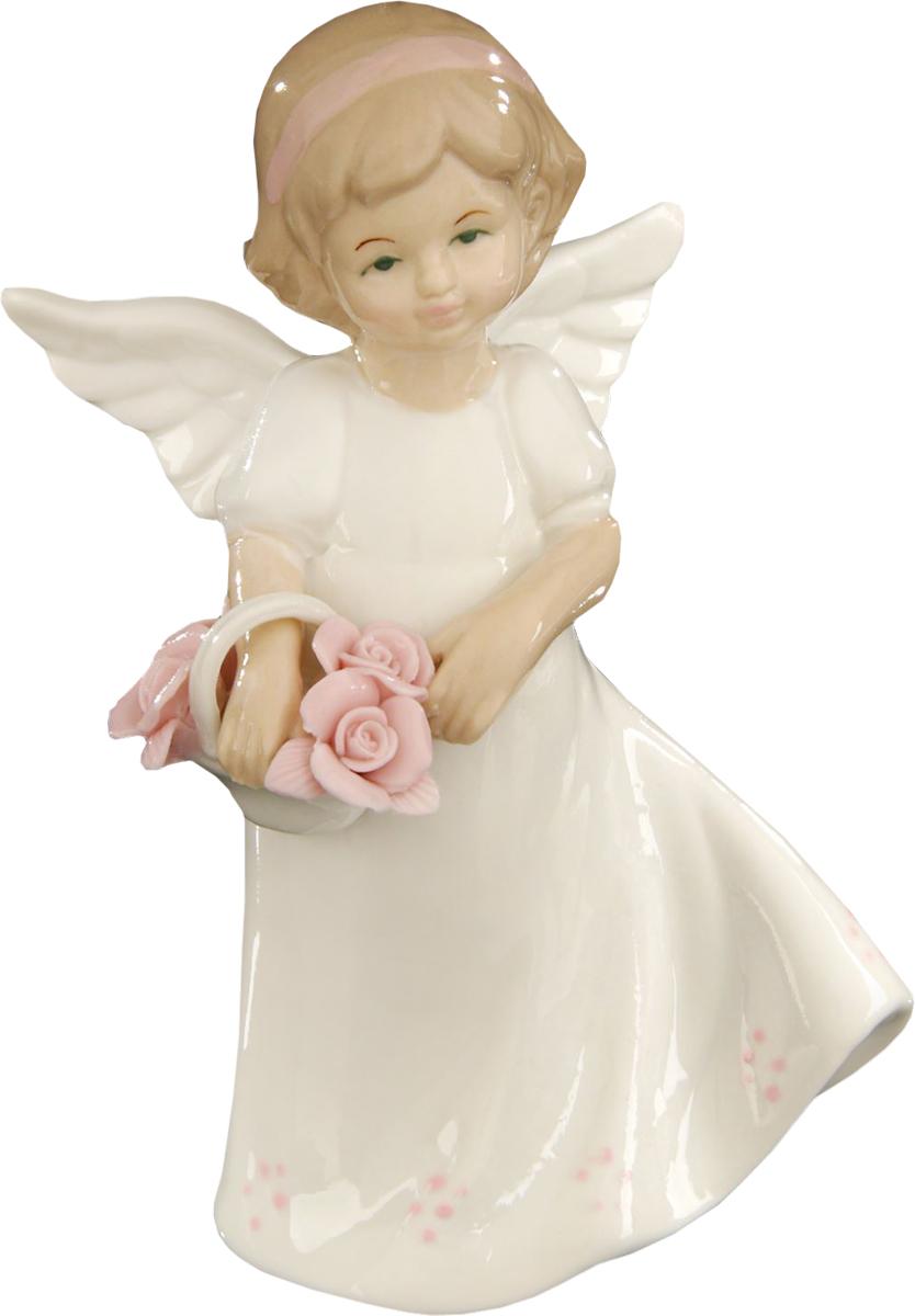Сувенир пасхальный Sima-land Ангелочек цветочница, 15 х 8 х 6 см1533491Сувенир Ангелочек цветочница — сувенир в полном смысле этого слова. И главная его задача — хранить воспоминание о месте, где вы побывали, или о том человеке, который подарил данный предмет. Преподнесите эту вещь своему другу, и она станет достойным украшением его дома.