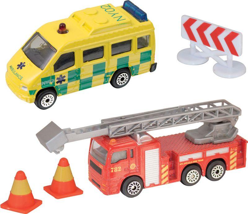 HTI Игровой набор Спасательная команда цвет красный желтый