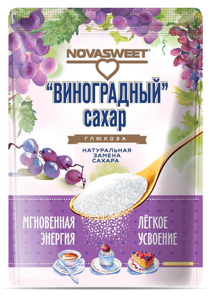Novasweet глюкоза, 400 г4607013792586Подходит для ежедневного применения в рационах питания, направленных на снижение потребления сахара.