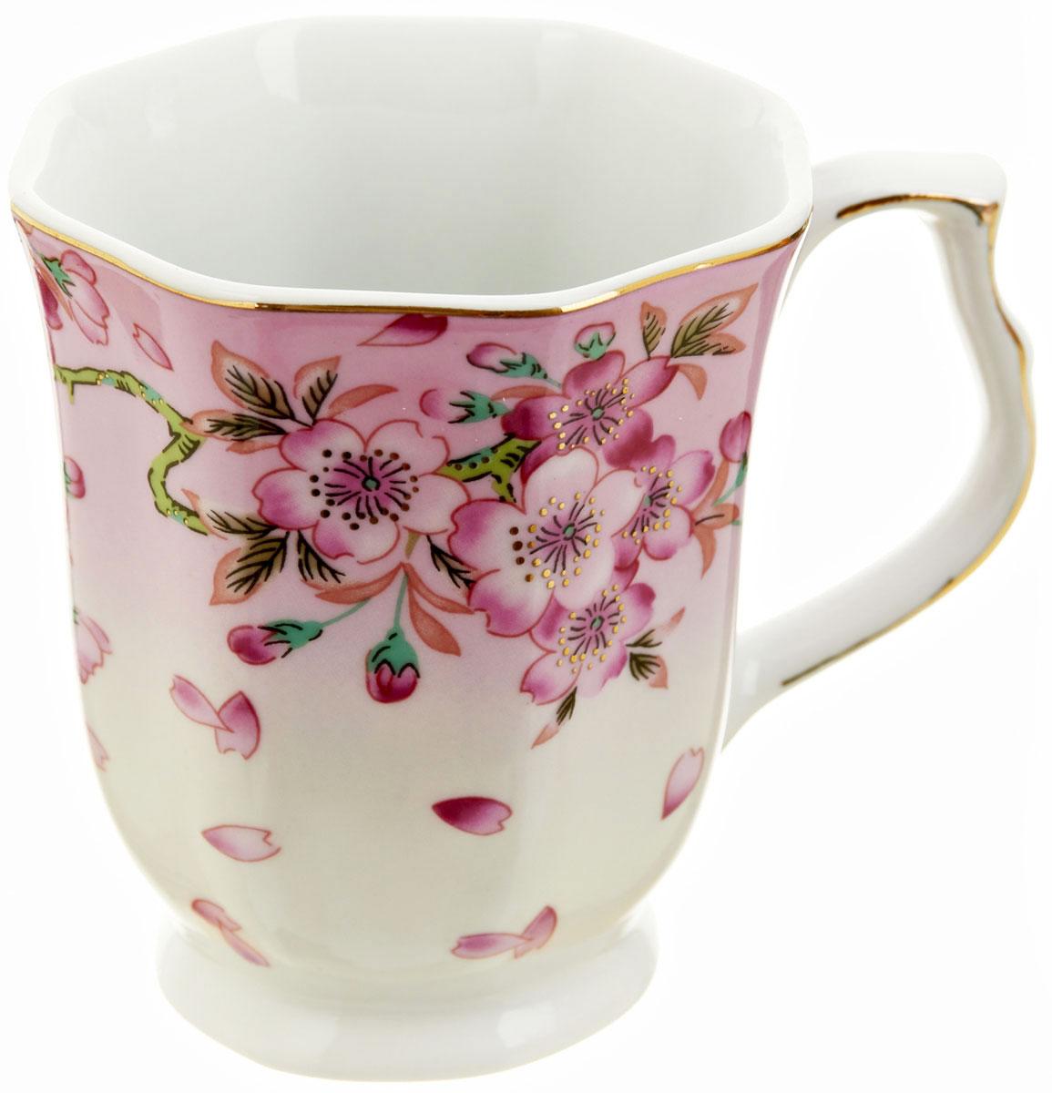 Кружка BHP Яблоневый цвет, 350 млM1270279Оригинальная кружка Best Home Porcelain, выполненная из высококачественного фарфора, сочетает в себе изысканный дизайн с максимальной функциональностью. Красочность оформления кружки придется по вкусу и ценителям классики, и тем, кто предпочитает утонченность и изысканность. В комплект входит кружка. Можно использовать в ПММ.