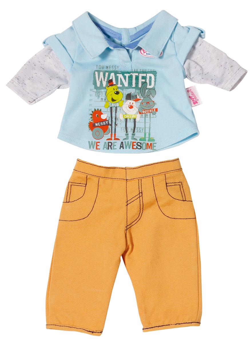 Zapf Creation Одежда для кукол Baby Born Стильная 2 предмета 822-197