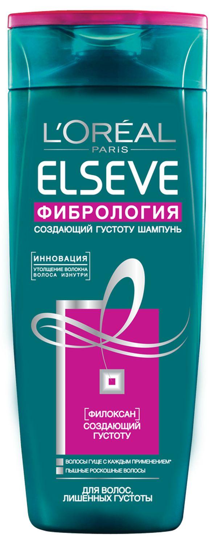 LOreal Paris Elseve Шампунь Эльсев, Фибрология, для волос, лишенных густоты, 250 мл