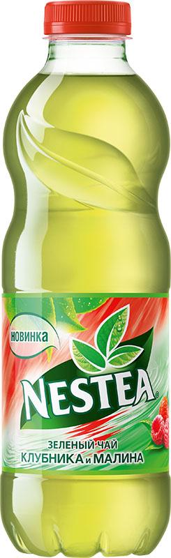 Nestea Клубника и малина зеленый чай, 1 л1228304Освежающий чай Nestea или айс-ти (от английского ice-tea ледяной чай) - это напиток без консервантов, приготовленный из лучших сортов чая с добавлением фруктовых и ягодных соков. Обладает натуральным вкусом с уникальным сочетанием чая и свежих фруктов. Полное отсутствие консервантов, ароматизаторов идентичных натуральным.