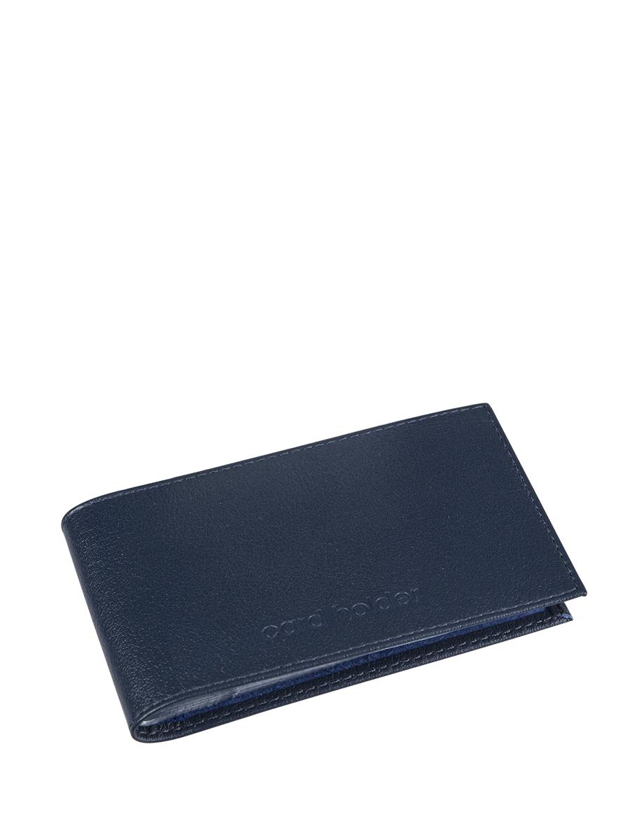 Визитница мужская Befler Грейд, цвет: темно-синий. K.5.-9K.5.-9Визитница из коллекции «Грейд» выполнена из натуральной кожи и оформлена тиснением с названием бренда. На внутреннем развороте 2 кармана из прозрачного пластика. Внутренний блок на 40 визитных и 20 кредитных карт.