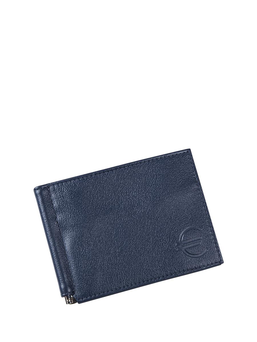 Зажим для купюр мужской Befler Грейд, цвет: темно-синий. Z.9.-9Z.9.-9Зажим для купюр из коллекции «Грейд» выполнен из натуральной кожи. На внутреннем развороте: металлическая фурнитура для купюр на пружине, 3 кармана для кредитных карт, дополнительный глубокий карман . На внешней (оборотной) стороне карман для мелочи, закрывающийся на молнию.