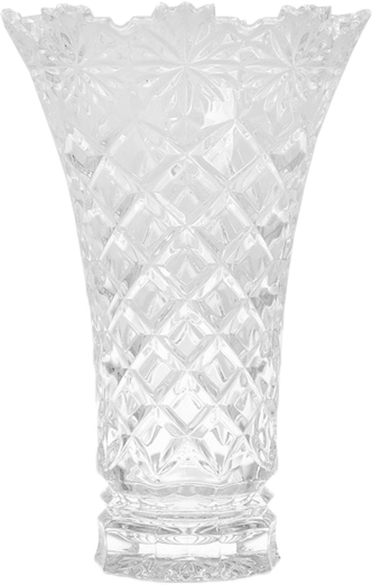 Ваза для цветов Crystal Bohemia, 20,5 см. БПХ714 990/80214/0/14134/205-109