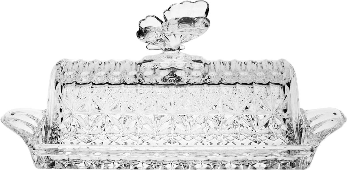 Масленка Crystal Bohemia, 20,5 см . БПХ564930/52750/1/65400/205-109Настоящий чешский хрусталь с содержанием оксида свинца 24%, что придает изделиям поразительную прозрачность и чистоту, невероятный блеск, присущий только ювелирным изделиям, особое, ни с чем не сравнимое светопреломление и игру всеми красками спектра как при естественном, так и при искусственном освещении. Продукция из Хрусталя соответствуют всем европейским и российским стандартам качества и безопасности. Традиции чешских мастеров передаются из поколения в поколение. А высокая художественная ценность изделий признана искушенными ценителями во всем мире. Продукция из Хрусталя соответствуют всем европейским и российским стандартам качества и безопасности.