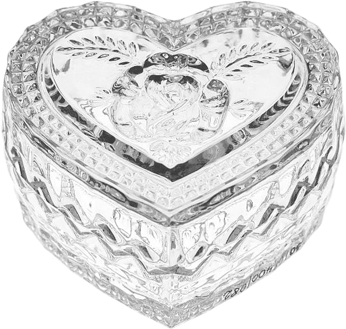 Менажница Crystal Bohemia Сердце, 8,2 см. БПХ171990/54730/1/68400/082-109Настоящий чешский хрусталь с содержанием оксида свинца 24%, что придает изделиям поразительную прозрачность и чистоту, невероятный блеск, присущий только ювелирным изделиям, особое, ни с чем не сравнимое светопреломление и игру всеми красками спектра как при естественном, так и при искуственном освещении. Продукция из Хрусталя соответствуют всем европейским и российским стандартам качества и безопасности. Традиции чешских мастеров передаются из поколения в поколение. А высокая художаственная ценность иделий признана искушенными ценителями во всем мире. Продукция из Хрусталя соответствуют всем европейским и российским стандартам качества и безопасности.