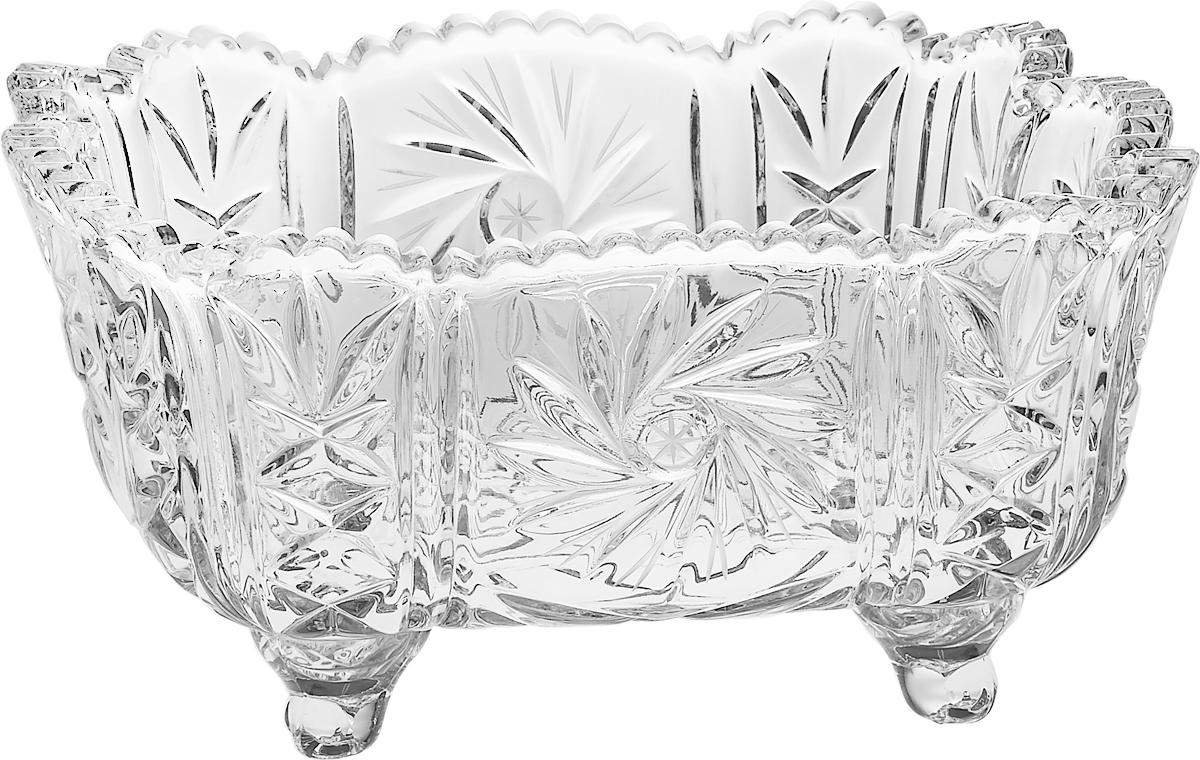 Салатник Crystal Bohemia, 25 см. БПХ412990/61982/0/00001/250-109Настоящий чешский хрусталь с содержанием оксида свинца 24%, что придает изделиям поразительную прозрачность и чистоту, невероятный блеск, присущий только ювелирным изделиям, особое, ни с чем не сравнимое светопреломление и игру всеми красками спектра как при естественном, так и при искуственном освещении. Продукция из Хрусталя соответствуют всем европейским и российским стандартам качества и безопасности. Традиции чешских мастеров передаются из поколения в поколение. А высокая художаственная ценность иделий признана искушенными ценителями во всем мире. Продукция из Хрусталя соответствуют всем европейским и российским стандартам качества и безопасности.