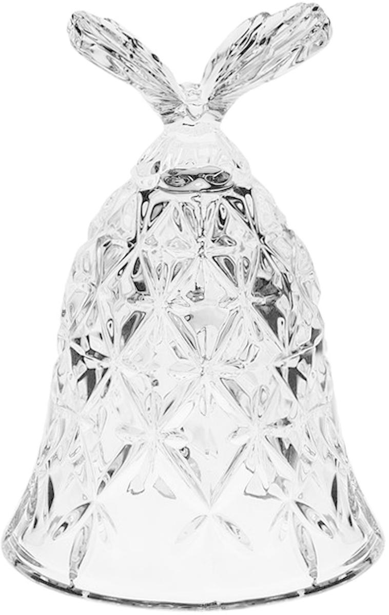 Фигурка декоративная Crystal Bohemia Колокольчик. Бабочка, 12 см. БПХ545920/13110/0/65400/120-109Настоящий чешский хрусталь с содержанием оксида свинца 24%, что придает изделиям поразительную прозрачность и чистоту, невероятный блеск, присущий только ювелирным изделиям, особое, ни с чем не сравнимое светопреломление и игру всеми красками спектра как при естественном, так и при искуственном освещении. Продукция из Хрусталя соответствуют всем европейским и российским стандартам качества и безопасности. Традиции чешских мастеров передаются из поколения в поколение. А высокая художаственная ценность иделий признана искушенными ценителями во всем мире. Продукция из Хрусталя соответствуют всем европейским и российским стандартам качества и безопасности.