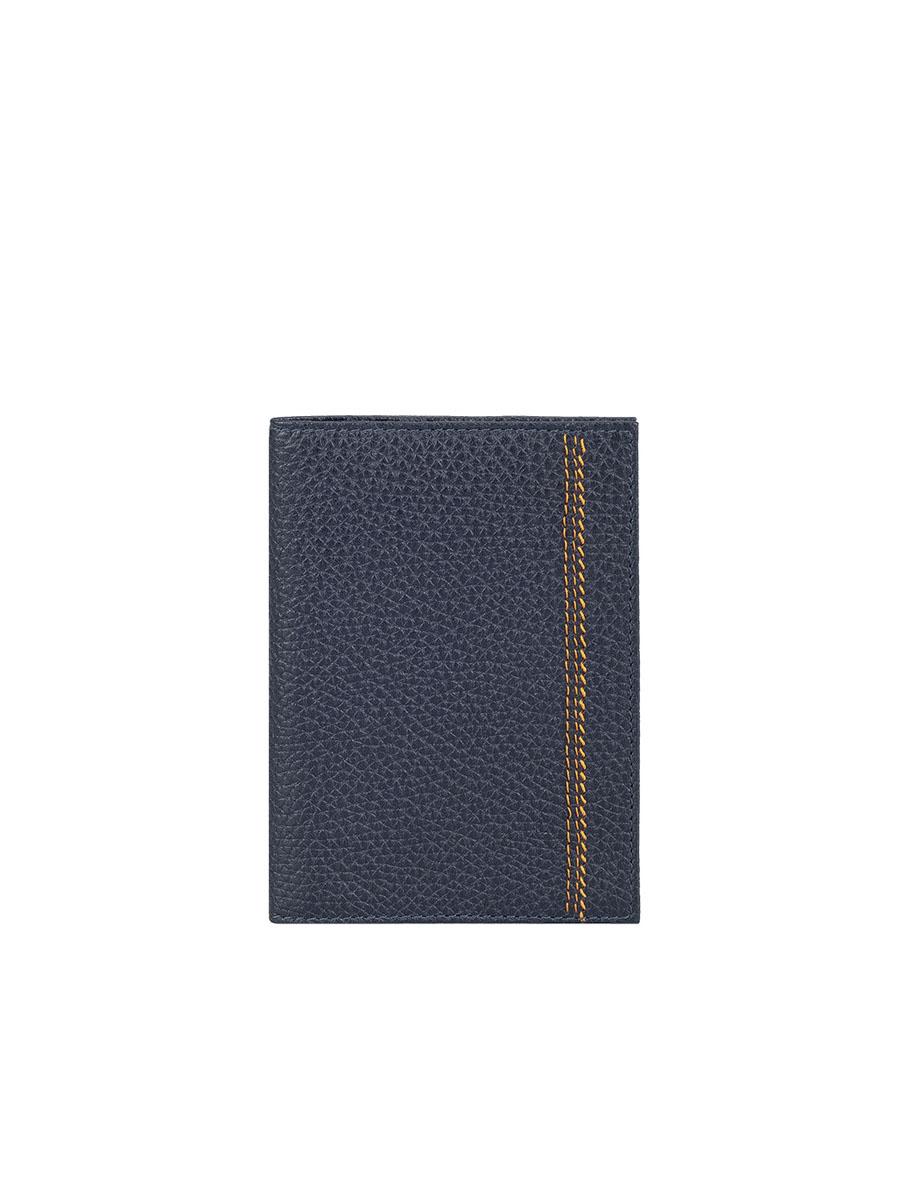 Обложка для паспорта мужская Fabula Talisman, цвет: темно-синий. O.81.BRO.81.BR.синийОбложка для паспорта из коллекции «Talisman» выполнена из натуральной кожи. На внутреннем развороте 2 кармана из прозрачного пластика, шелковистая подкладка.