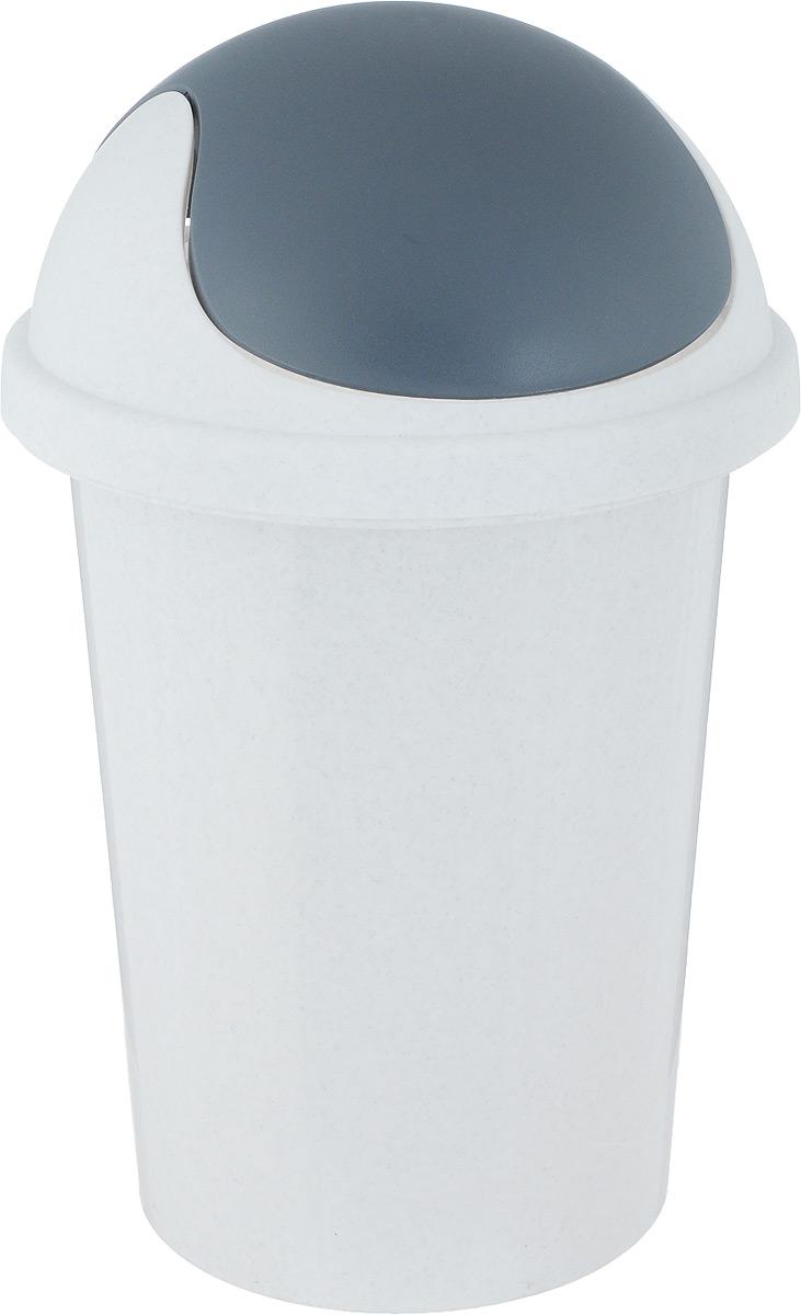 Корзина для мусора Plastic Centre, цвет: мраморный, 10 лПЦ2547МРКухня, ванная комната или офис – везде могут быть использованы наши новые корзины для мусора 10 л. Практичные корзины для мусора изготовлены из высококачественного пластика. Крышка-качалка удобна в использовании. Корзина постоянно находится в закрытом состоянии, скрывая от взгляда свое содержимое и предотвращая распространение неприятных запахов. Крышку легко снимать и мыть отдельно от корзины.