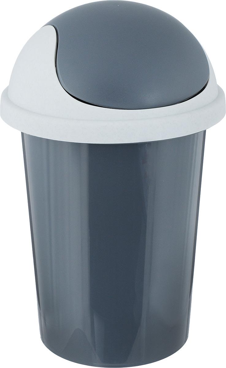 Контейнер для мусора Plastic Centre, цвет: темно-серый, 10 лПЦ2547ТСРМусорный контейнер Plastic Centre поможет поддержать порядок и чистоту на кухне, в туалетной комнате или в офисе. Контейнер выполнен из полипропилена. Изделие оснащено крышкой-качалкой, которая удобна в использовании. Скрытые борта в корпусе изделия для аккуратного использования одноразовых пакетов и сохранения эстетики изделия. Съемная верхняя часть контейнера обеспечивает удобство извлечения накопившегося мусора. Эстетика изделия превращает необходимый предмет кухни или туалетной комнаты в стильное дополнение к интерьеру. Его легкость и прочность оптимально решают проблему сбора мусора. Размер: 26,7 х 26,7 х 42 см.