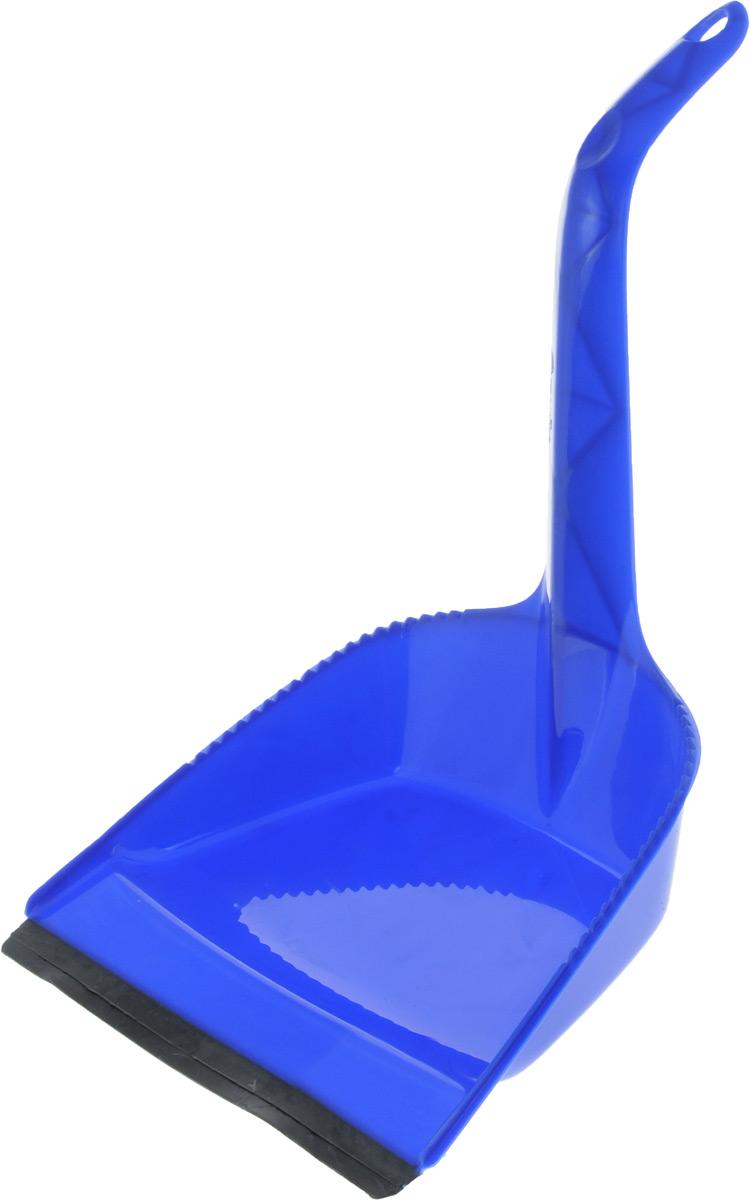 Совок Svip Идеал, с кромкой, цвет: синий, 40 х 22,5 х 6,5 смSV3833СН-20РSСовок Svip Идеал, выполненный из полипропилена, предназначен для сбора мусора и пыли при уборке помещений. Он оснащен эргономичной ручкой с петлей, которая позволит повесить изделие на крючок. Благодаря высокой рукоятке нет необходимости сильно наклоняться для заметания мусора. Края совка оснащены зубчиками для чистки щетки после ее использования. Совок имеет резиновую кромку, благодаря которой удобнее собирать мусор. Размер рабочей части: 16 х 22,5 см, Длина ручки: 24,5 см, Длина совка (с учетом ручки): 40 см.