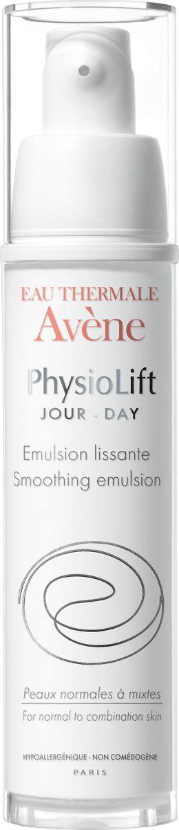 Avene Дневная разглаживающая эмульсия Physio Lift от глубоких морщин, 30 млC52633Дневная эмульсия Физиолифт разглаживает глубокие морщины, увлажняет кожу и повышает ее упругость благодаря эксклюзивному запатентованному* комплексу взаимодополняющих активных антивозрастных компонентов. АскофилинТM – активный и высокотехнологичный антивозрастной компонент, восстанавливающий структуру кожи. Моно-олигомеры гиалуроновой кислоты - интенсивно стимулируют выработку натуральной гиалуроновой кислоты в коже, благодаря особому размеру, обеспечивают заполнение морщин и делают кожу визуально более объемной. Претокоферил – мощный антиоксидант, защищает кожу, сохраняя ее сияние. Благодаря легкой текстуре, обладающей нежным ароматом и высокому содержанию успокаивающей Термальной воды Avene в составе, Дневная эмульсия Физиолифт делает нормальную и комбинированную кожу мягкой и эластичной, обеспечивая матирующий эффект.