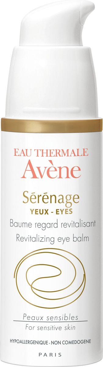Avene Восстанавливающий бальзам Serenage для контура глаз, 15 млC49669Кремообразная текстура, обогащенная термальной водой Avene, обеспечивает ощущение комфорта. - укрепляет кожу век благодаря фрагментированной гиалуроновой кислоте (H.A.F.), эксклюзивной разработке Дерматологических лабораторий Avene, - уменьшает обвисание кожи век и темные мешки под глазами, - смягчает, питает и защищает нежную чувствительную кожу век и контуров глаз благодаря Гликолеолу и Претокоферилу. Освежает кожу и дарит ей сияние, ваши глаза выглядят моложе.