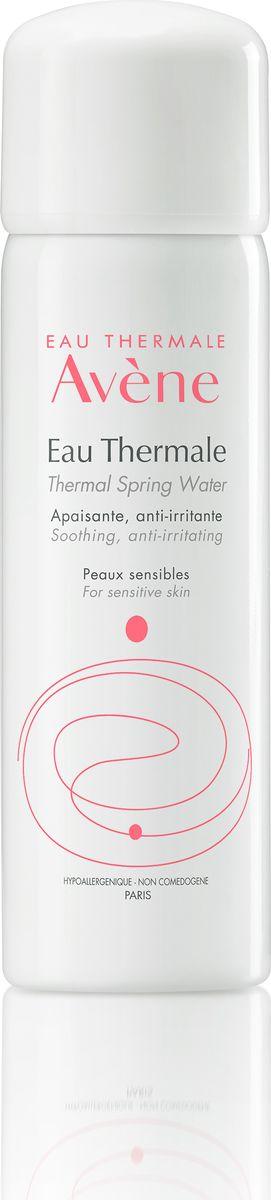 Avene Термальная вода Eau Thermale 50 мл vichy спрей для детей capital ideal soleil spf50 200мл термальная вода 50 мл в подарок