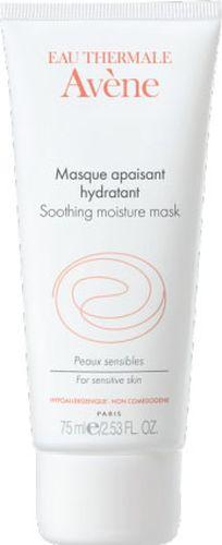 Avene Успокаивающая увлажняющая маска Sensibles для лица 50 млC05139Успокаивающая увлажняющая маска обеспечит вашей коже настоящий успокаивающий и восстанавливающий уход: • Термальная вода Avene в высокой концентрации успокаивает и снимает раздражение кожи. • Питательные и увлажняющие компоненты восстанавливают кожный барьер и поддерживают оптимальный уровень увлажнения** кожи. Маска, нанесенная толстым слоем, хорошо впитывается, благодаря своему уникальному составу. Кожа становится мягкой, нежной и сияющей.