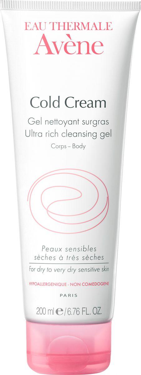 Avene Очищающий сверхпитательный гель Cold-cream для лица и тела 200 млC40037Не содержащий мыла Очищающий сверхпитательный гель с Колд-кремом обладает исключительно мягкой моющей основой и уровнем pH идеально адаптированным к коже, что позволяет использовать гель ежедневно. Насыщенная кремовая текстура придает коже мягкость, увлажняя и защищая её. Подходит как для детей, так и для взрослых.