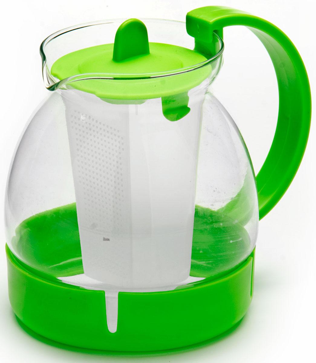 Чайник заварочный Mayer & Boch, с фильтром, 1,25 л. 26171-326171-3