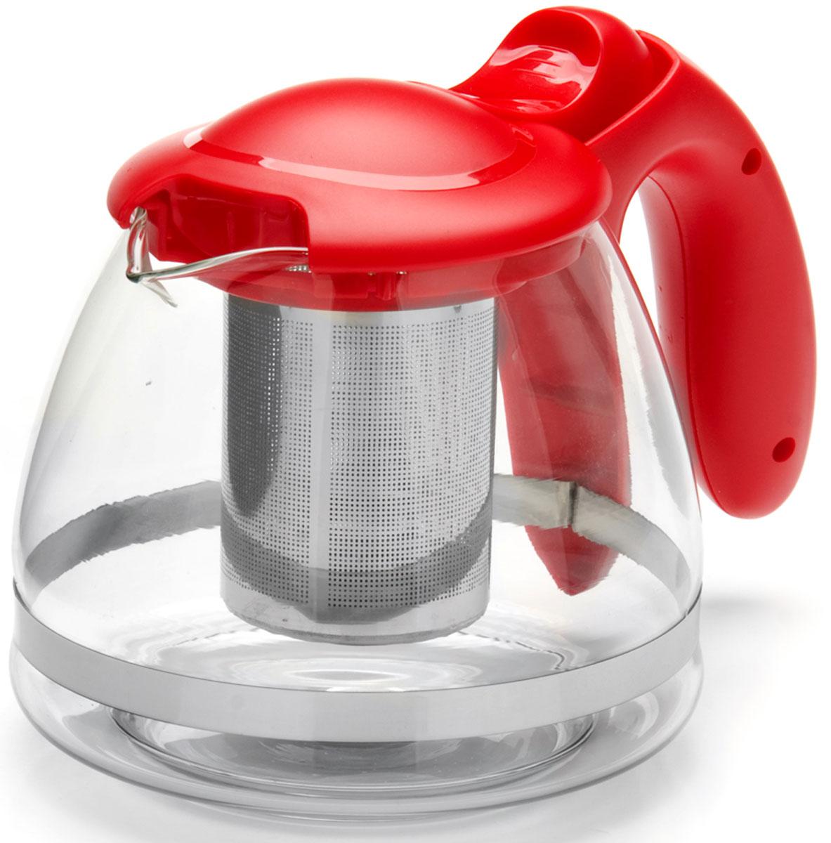 Чайник заварочный Mayer & Boch, с фильтром, 1,2 л. 26172-126172-1