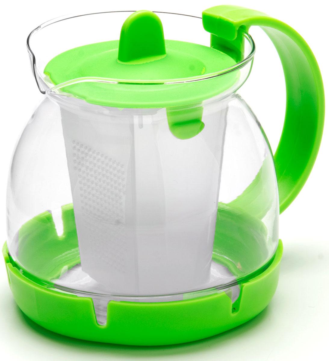 Чайник заварочный Mayer & Boch, с фильтром, 0,8 л. 26175-326175-3