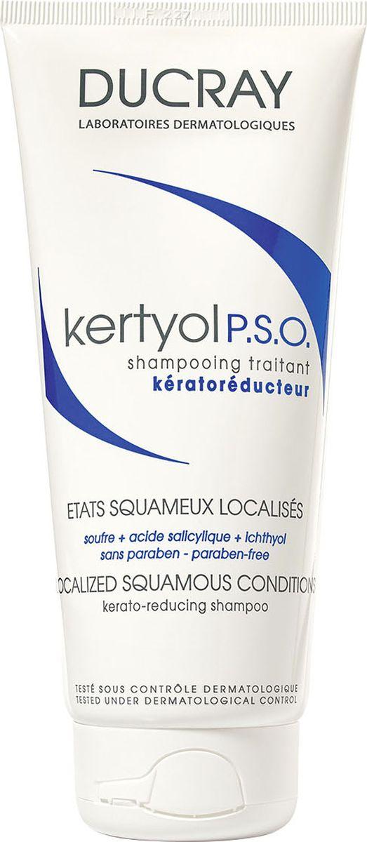 Ducray P.S.O. Шампунь Keracnyl уменьшающий шелушение кожи головы 125 млC29349Шампунь Kertyol P.S.O. (Кертиоль П.С.О.) эффективно устраняет факторы, провоцирующие образование участков гиперкератоза волосистой части головы. Уменьшает бляшки, снимает зуд, покраснение и шелушение за счет входящего в состав уникального комплекса компонентов. Основные компоненты: МИКРОНИЗИРОВАННАЯ СЕРА – известный кераторегулирующий ингредиент, уменьшает толщину чешуйчатой бляшки и способствует удалению хлопьевидных чешуек. САЛИЦИЛОВАЯ КИСЛОТА – кератолитик, дополняет действие серы, удаляя чешуйки с кожи. КЕРТИОЛЬ быстро и надолго уменьшает зуд и покраснение. Благодаря мягкой моющей основе, шампунь Кертиоль П.С.О. хорошо переносится и приятен в использовании. Может использоваться самостоятельно или в комплексе с лекарственными средствами, назначенными дерматологом.