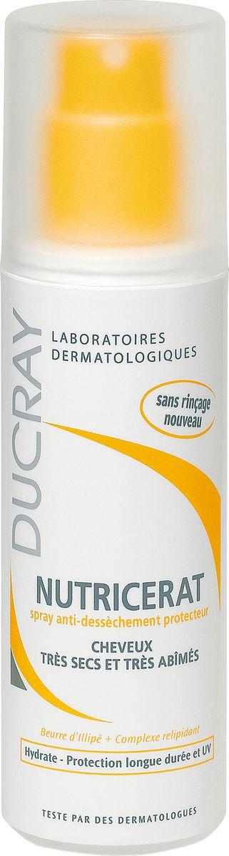 Ducray Защитный спрей Neoptide для сухих волос 75млC17500Спрей Nutricerat (Нутрицерат) защищает волосы от внешнего агрессивного воздействия (при укладке феном, на море, в бассейне или во время пребывания на солнце и т.д.). Масло иллипа обеспечивает волосы необходимыми питательными компонентами, восстанавливающий релипидирующий комплекс (растительного происхождения) в сочетании с солнцезащитным фильтром позволяет защитить волосяной стержень от агрессивных внешних воздействий и обезвоживания, разглаживающие компоненты облегчают расчесывание, обеспечивают мягкость, блеск и эластичность волос. Не требует смывания. Не утяжеляет волосы.