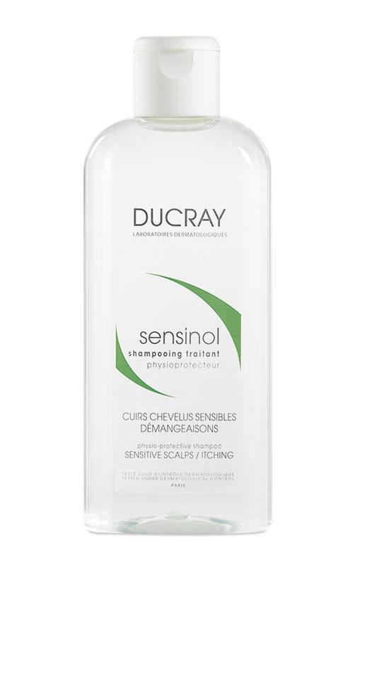 Ducray физиологический защитный шампунь Sensinol 200 млC39254Шампунь Sensinol (Сенсинол) специально разработан для ежедневного использования при повышенной чувствительности кожи волосистой части головы, сопровождающейся ощущением зуда и дискомфорта. Успокаивает кожу волосистой части головы, уменьшает зуд. Формула не содержит парабенов, красителей и отдушек и обеспечивает исключительно мягкое очищение. В результате применения, восстанавливаются физиологические процессы в коже волосистой части головы и естественный баланс. Шампунь обладает очень хорошей переносимостью.