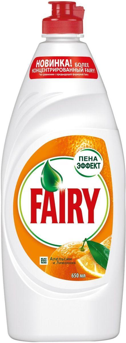 Средство для мытья посуды Fairy Апельсин и лимонник, 650 млFR-81573191Всего одна капля нового, более концентрированного Fairy сможет отмыть целый горы грязной посуды. Тарелки, стаканы, кастрюли и сковородки - формула Fairy с легкостью удалит даже самые сложные загрязнения с любой поверхности без особых усилий. А еще с Fairy вы экономите, так как его хватает в 2 раза больше. выберите свой аромат: Сочный Лимон, Апельсин и Лимонник, Зеленое Яблоко в размерах в ассортименте. В 2 раза больше чистой посуды. Новинка - более концентрированный Fairy Попробуйте новинку Fairy для ручного мытья посуды. Новая, более концентрированная формула с Пена-Эффектом глубоко проникает в жир и расщепляет его изнутри, позволяя отмыть до 2х раз больше посуды. А активные компоненты настолько эффективны, что запросто растворят жир даже в холодной воде. Fairy - безопасный продукт, разработанный в европейском научно исследовательском центре (Brussels Innovation Centre) и полностью соответствующий ГОСТу РФ, и полностью смывается с посуды. Основные преимущества: Отмывает...