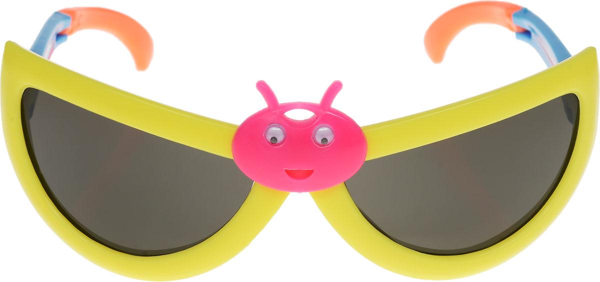 Очки солнцезащитные детские Vittorio Richi, цвет: желтый. ОСбожьякоровка/17fОСбожьякоровка/17fОчки солнцезащитные Vittorio Richi это знаменитое итальянское качество и традиционно изысканный дизайн.