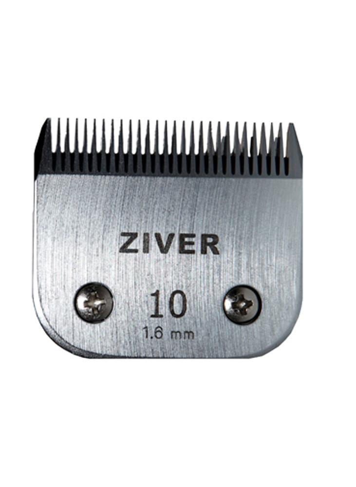 Стригущий нож Ziver Слот А5 универсальный, нержавеющая сталь, №10, 1,6 мм20.ZV.028