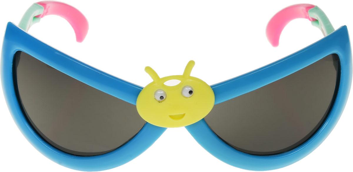 Очки солнцезащитные детские Vittorio Richi, цвет: синий. ОСбожьякоровка/17fОСбожьякоровка/17fОчки солнцезащитные Vittorio Richi это знаменитое итальянское качество и традиционно изысканный дизайн.