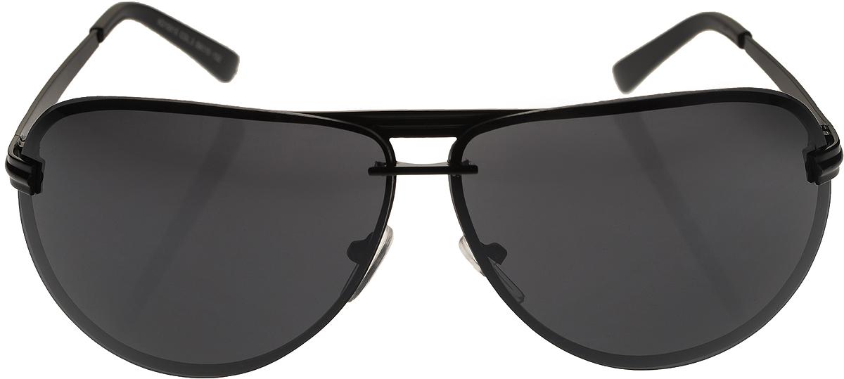 Очки солнцезащитные мужские Vittorio Richi, цвет: черный. ОС15015/17fОС15015/17fОчки солнцезащитные Vittorio Richi это знаменитое итальянское качество и традиционно изысканный дизайн.