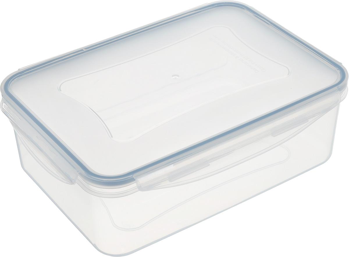 Контейнер Tescoma Freshbox, прямоугольный, 2,5 л892068Контейнер Tescoma Freshbox, изготовленный из прочного пластика, отлично подходит для хранения и разогрева блюд. Герметичная крышка имеет силиконовый уплотнитель, пища остается свежей дольше и не протекает при перевозке. Подходит для холодильника, морозильных камер, микроволновой печи и посудомоечной машины. Размер (с учетом крышки): 24,5 х 18 х 8 см.