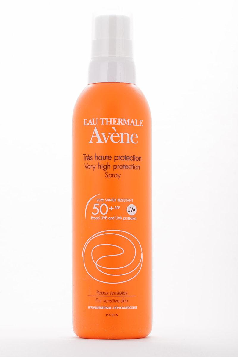 Aven Солнцезащитный спрей SPF50+, 200 мл C19958