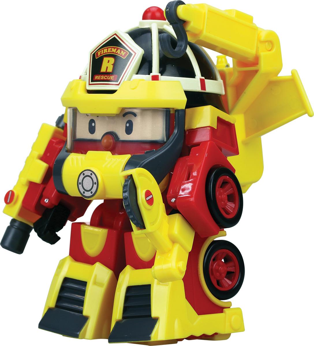 Robocar Poli Трансформер Рой Пожарный  недорого