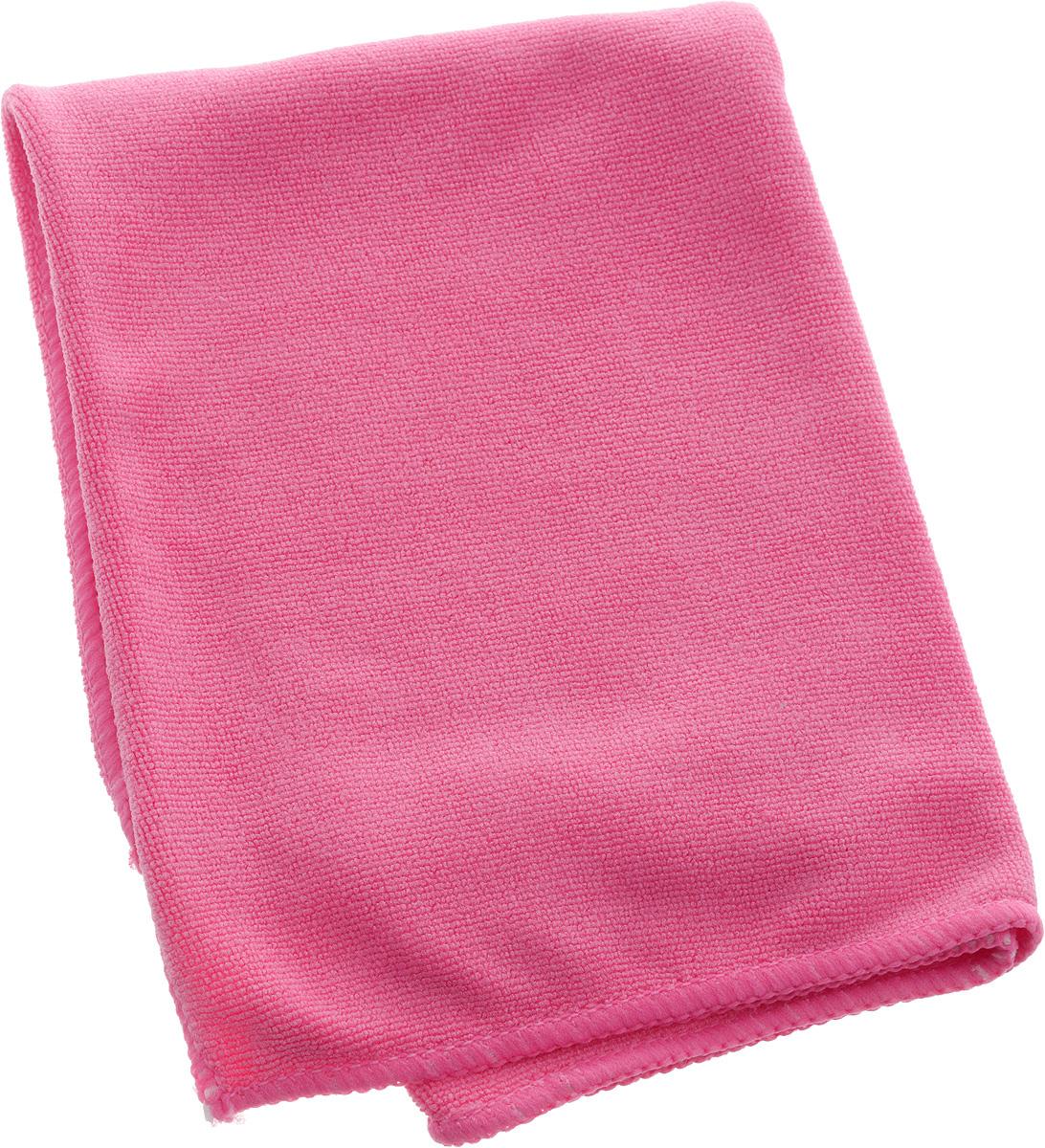 Салфетка из микрофибры Airline, цвет: розовый, 40 х 60 смAB-A-06Мягкая салфетка Airline выполнена из микрофибры. Мягкий ворс микрофибры очистит поверхность от пыли и загрязнений, микробов и грибков, и не отставит царапин. Материал хорошо впитывает жидкость, быстро сохнет и не подвержен быстрому износу после многочисленных стирок.