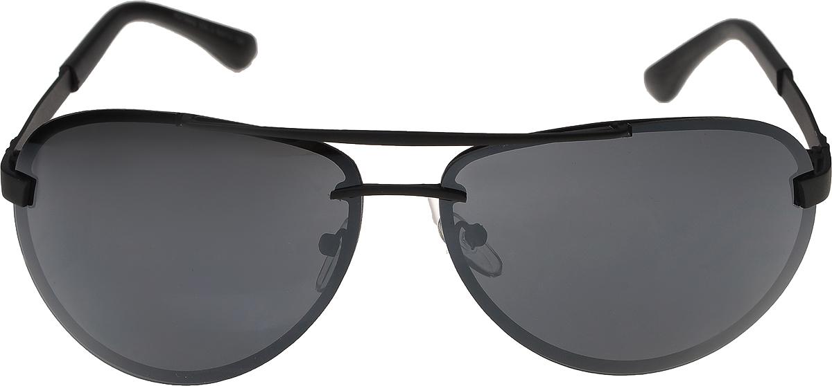 Очки солнцезащитные мужские Vittorio Richi, цвет: черный. ОС16802/17fОС16802/17fОчки солнцезащитные Vittorio Richi это знаменитое итальянское качество и традиционно изысканный дизайн.