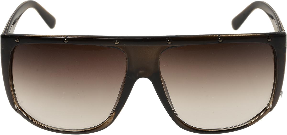 Очки солнцезащитные мужские Vittorio Richi, цвет: коричневый. ОС4128c818-477-8/17fОС4128c818-477-8/17fОчки солнцезащитные Vittorio Richi это знаменитое итальянское качество и традиционно изысканный дизайн.