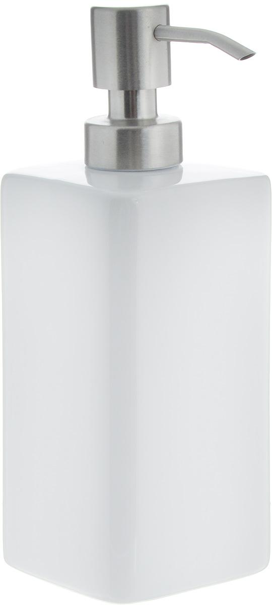 Дозатор для моющего средства Tescoma Online, 350 мл900810Дозатор Tescoma Online, выполненный из керамики и нержавеющей стали, прекрасно подходит для удобной дозировки и хранения моющих средств на кухонном гарнитуре, рядом с мойкой. Можно мыть в посудомоечной машине (кроме помпы). Высота дозатора (с учетом крышки): 18,5 см. Размер дозатора (без учета крышки): 6,8 х 6,8 х 14,5 см.