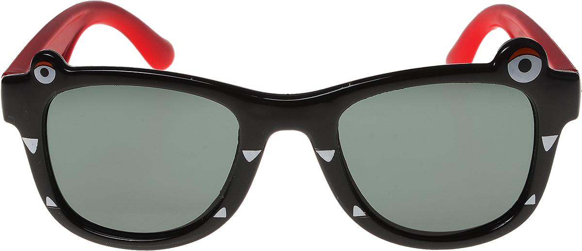 Очки солнцезащитные детские Vittorio Richi, цвет: черный. ОСлягушки/17fОСлягушки/17fОчки солнцезащитные Vittorio Richi это знаменитое итальянское качество и традиционно изысканный дизайн.